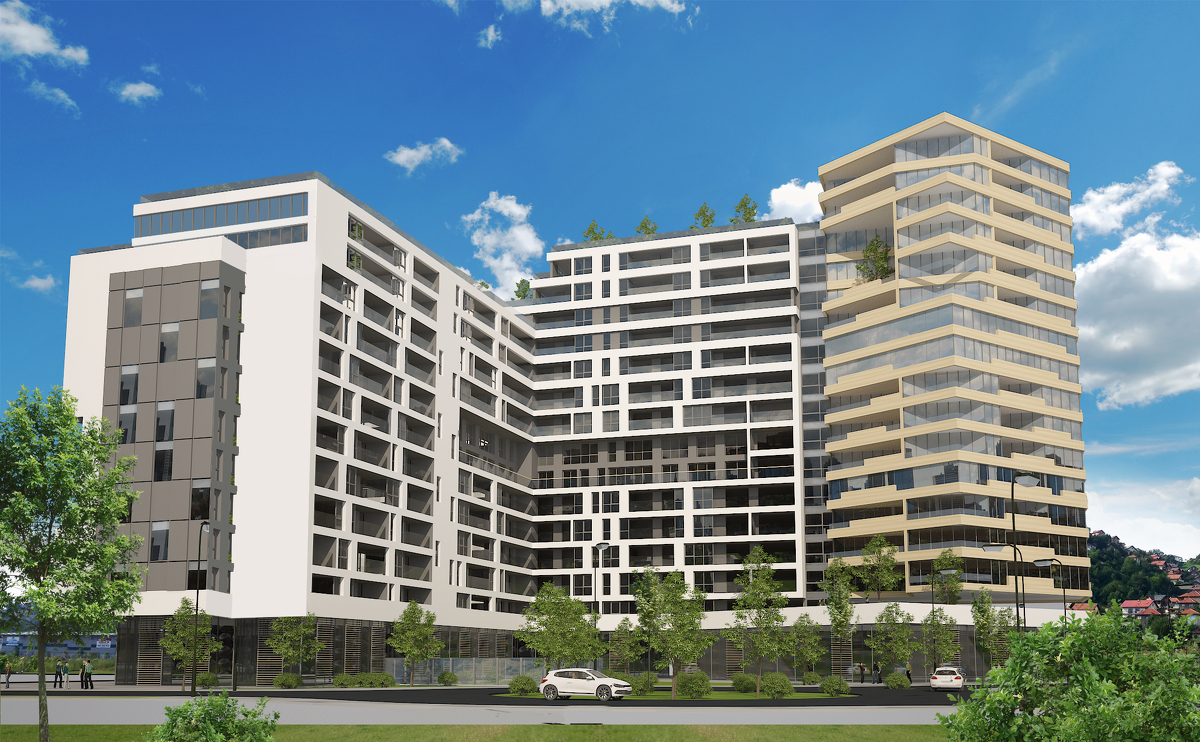 """Izgradnja stambeno – poslovnog objekta """"DIJAMANT"""""""