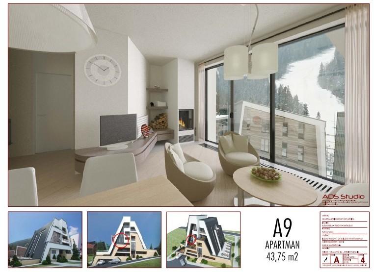 Izgradnja apartmanskog objekta – Bjelašnica