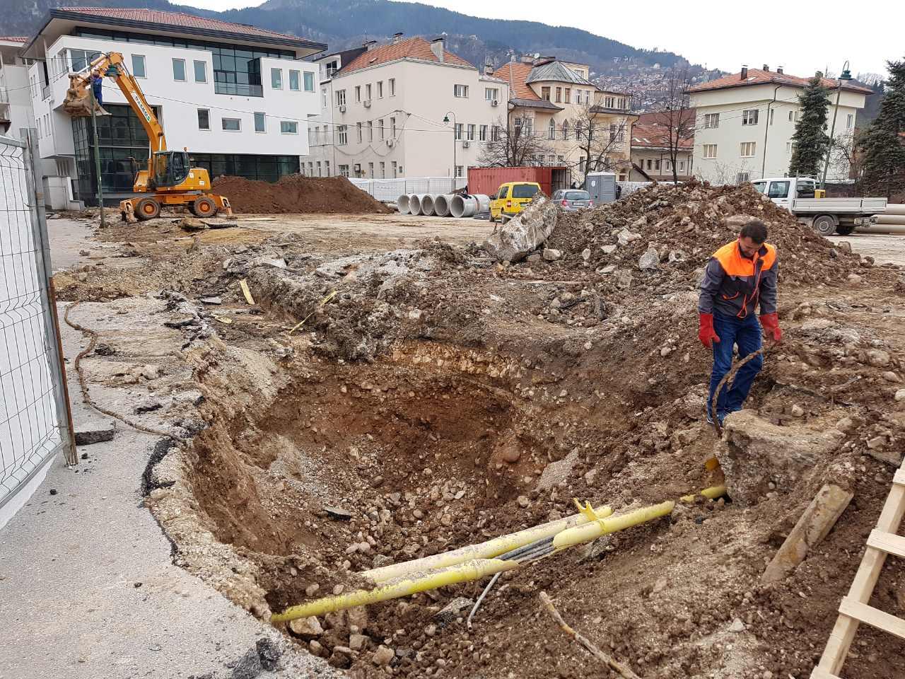Izgradnja javne podzemne garaže sa trgom – Općina Stari Grad