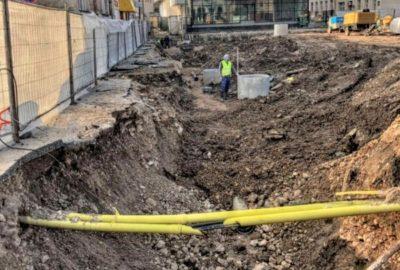 Izmještanje podzemnih instalacija prilikom izgradnje podzemne garaže